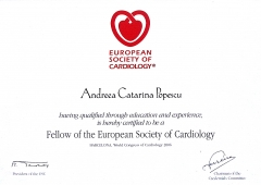 Fellow of the European Society of Cardiology