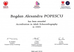 Accreditation in Adult Echocardiography