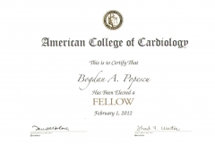 Fellow of the American College of Cardiology